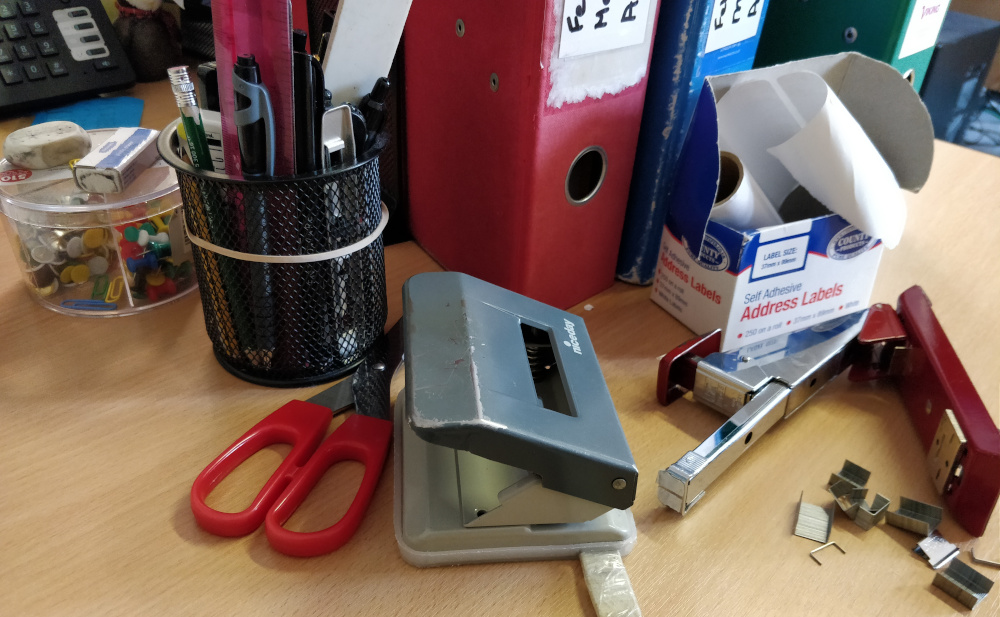 Stationery not going anywhere