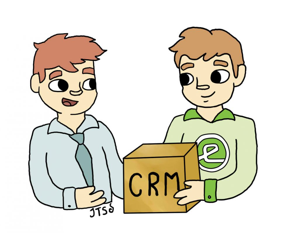 Custom CRM Application from Evergreen
