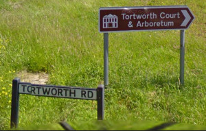 Tortworth Road Signpost