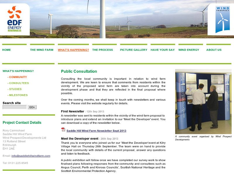 Wind Farm consultation