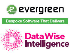 Evergreen and Datawise logos